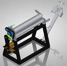 diy sheet metal roller plans thorough professional