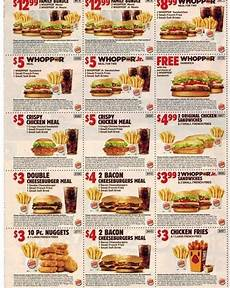 Burger King Coupons Coupon Codes