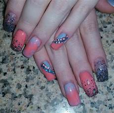 30 colourful acrylic nail art designs ideas design