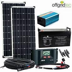 Solaranlage Autark M Master 200w Solar 1000w Ac 122ah 12v