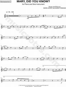 mary did you know c instrument composed by mark lowry digital sheet music in 2019 cello