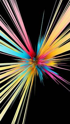 4k Wallpaper With Black Background by Colorful Particles Explosion Black Background
