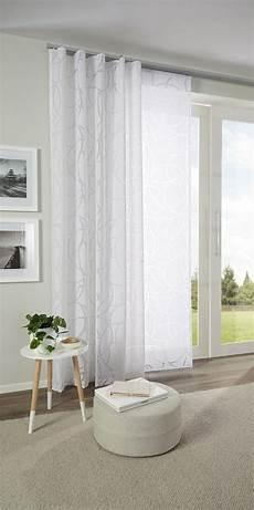 vorhänge esszimmer modern h 252 bscher vorhang mit zartem muster in wei 223 esposa in