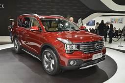 Chinese Automaker GAC Invades 2017 Detroit Auto GS7 Looks