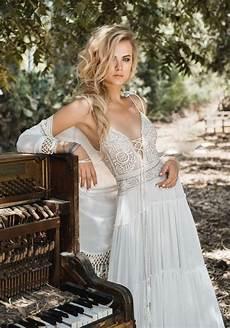 Brautkleid Boho Style - top 18 boho wedding dresses for 2018 trends oh best day