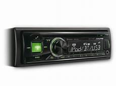 Cd Usb Receiver With Advanced Bluetooth Alpine Cde 173bt
