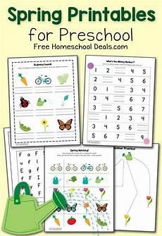free spring printables for preschool instant download free homeschool preschool free
