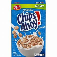 chips ahoy breakfast cereal chocolate chip 19 oz