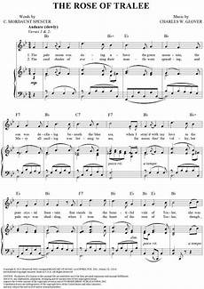 quot the rose of tralee quot sheet music www onlinesheetmusic com sheet music tralee music