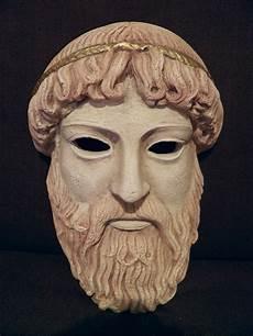 Greek Masks   file ancient greek theatrical mask of zeus replica 8380375983 jpg