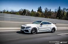 pd65cc widebody aerodynamic kit for mercedes c class coupe