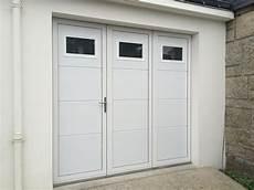 porte de garage 3 vantaux aluminium r 233 alis 233 e 224 sainte
