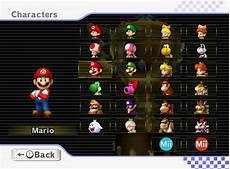 mario kart wii personnages comment d 233 bloquer tous les personnages dans mario kart wii