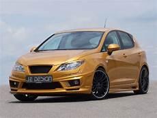 seat ibiza 6j tuning je design seat ibiza 6j gold revealed autoevolution