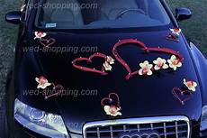 kit deco mariage hearts car deco kit yellow orchids wedding car wedding