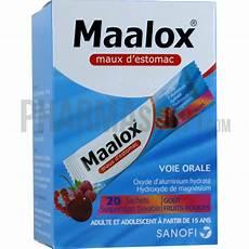 maalox maux d estomac go 251 t fruit sachets boite de