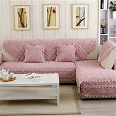 Colorful Protector Cover by Seat Sofa Covers Protector Pink Plush Eco Friendly