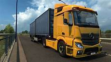mercedes actros mp4 truck simulator 2 mods mercedes actros mp4 1 27