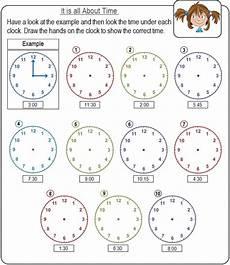 time worksheets for kids edu resource com