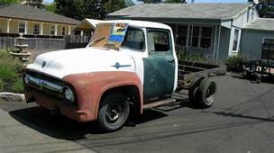 1956 Ford F250/F350 Factory Dually Flatbed Truck  Classic