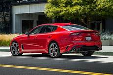 kia stinger 2017 exclusive 2018 kia stinger gt test well stung motor trend