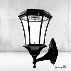 wall light cheapest stylish black finish 21 h large cheap led solar landscape outdoor wall light beautifulhalo com