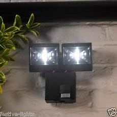 4 led battery operated security motion pir sensor wireless outdoor wall light ebay