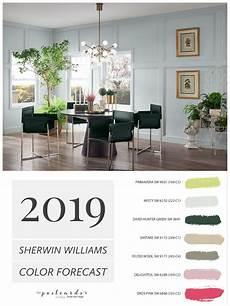 2019 paint color forecast from sherwin williams trending paint colors paint colors colorful