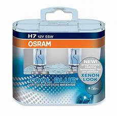 limited edition osram h7 cool blue 64210cbl 55w
