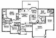 house plans with basement apartments turn guest suite into a den with staurs going down to the