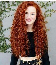 rote haare nuancen rotes haar lockige frisuren
