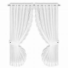 gardinen set gardinen set wei 223 raffhalter 90x160 cm online bei