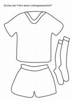 Fussball Trikots Ausmalbilder 4teachers Lehrproben Unterrichtsentw 252 Rfe Und