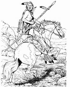 Ausmalbilder Indianer Indian Coloring Pages Coloring Home