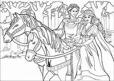 Malvorlagen Prinzessin Mit Pferd Ausmalbilder Pferde Ausmalbilder