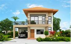 low cost simple two storey house design philippines havana two storey house with spacious terrace pinoy eplans