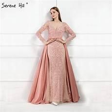 robe ées folles aliexpress buy luxury pink mermaid evening dresses