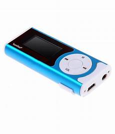Buy Sonilex Mp6 With Hd Led Torch Mp3 Players Blue