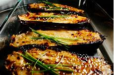 oven roasted eggplant with caramelized miso recipe 183 i am