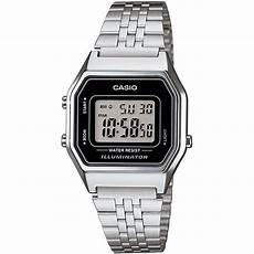 casio uhr la680wa 1df digitaluhr armbanduhr damen silber
