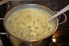 Lauchcremesuppe Mit Hackfleisch - lauchsuppe mit hackfleisch badermichel chefkoch