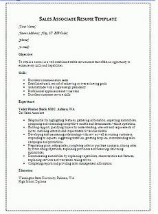10 sales resume templates free word templates