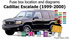 Fuse Box Location And Diagrams Cadillac Escalade 1999