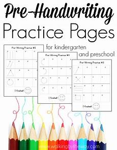 free pre handwriting practice pages free homeschool deals