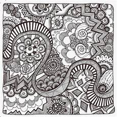 easy zentangle coloring pages at getcolorings free