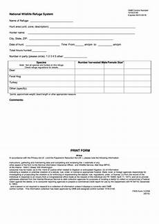 top 16 u s fish wildlife service forms and templates