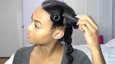 no heat blowout type 4 hair youtube