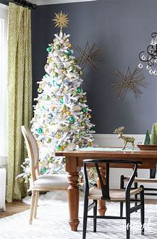 White Decorations For Tree by 8 Beautifully Decorated White Trees
