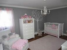 Baby Bedroom Ideas Pink And Grey by Pink And Gray Classic And Girly Nursery Baby