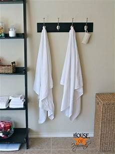 bathroom towel hook ideas master bathroom update new towel hooks house of hepworths